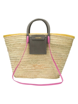 Multicolored Le Grand Panier Soleil Tote Bag