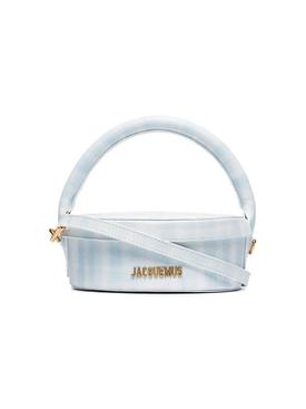 La Boite A Gateux Gingham Print Handbag