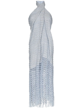 LA ROBE CORTESE HALTER DRESS LIGHT BLUE