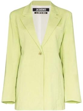 Green La veste Tablier Jacket