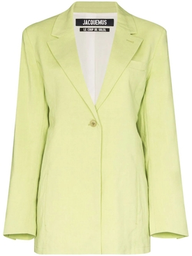 Jacquemus - Green La Veste Tablier Jacket - Women
