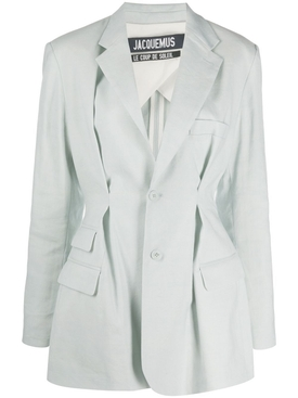 Jacquemus - La Vest Raffaella Blazer Light Blue - Women