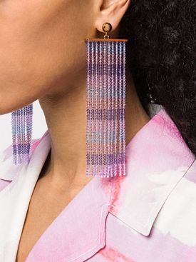 Purple Les Riseax Earrings