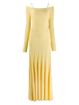 Yellow La Robe Maille Valensole Dress