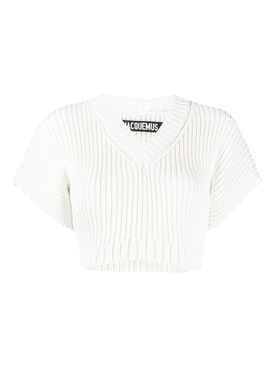 Jacquemus - La Maille Helado Cropped Knit Top - Women