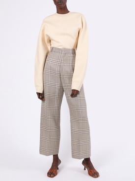 Le Pantalon Santon Check Print Pants