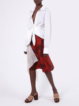 La Chemise Bahia Front-Tie Top White