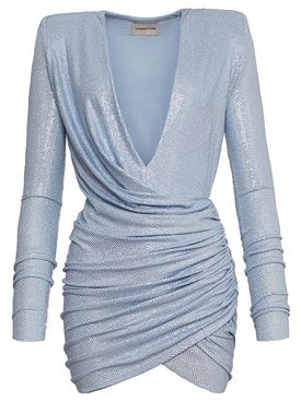Rhine-Stone Embellished Mini Dress