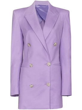Lilac blazer mini dress