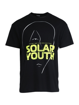 Black and yellow Solar Youth t-shirt