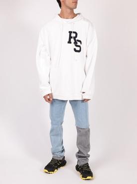 Ecru White Oversized Hoodie