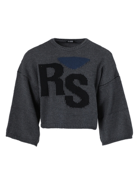 Oversized RS wool sweater GREY