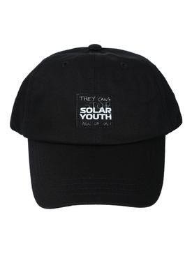 SOLAR YOUTH CAP BLACK