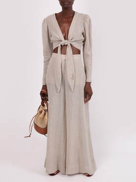 Neutral Wide-leg pant
