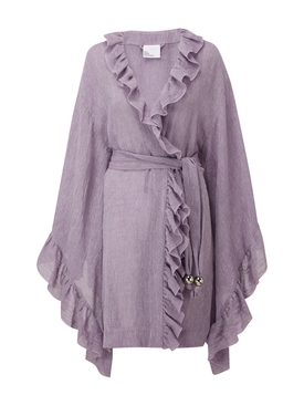 Purple Anita Mini Robe