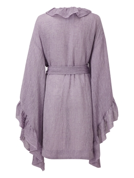 Purple Anita Mini Robe