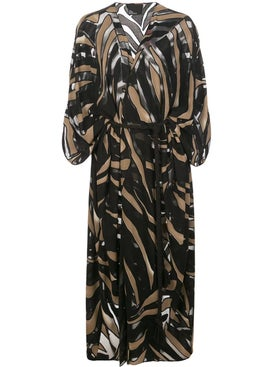 Lisa Marie Fernandez - Black And Beige Caftan - Women