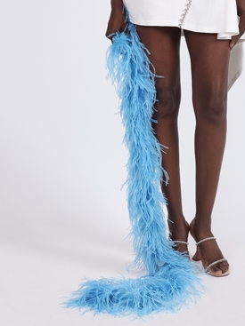 Ostrich Boa BABY BLUE