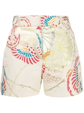 Multicolored Captaine shorts