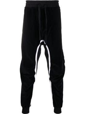 Haider Ackermann - Black Moonshape Perth Joggers - Men