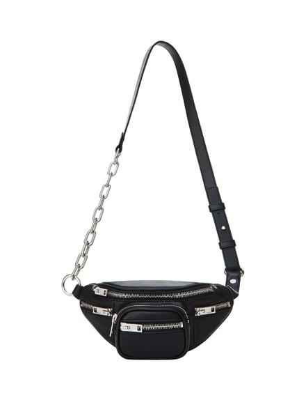 Alexander Wang Mini Black Leather Attica Soft Fanny Pack