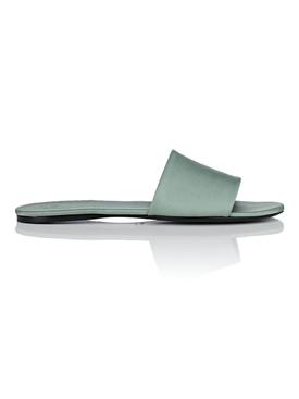 Ellen satin slide sandals