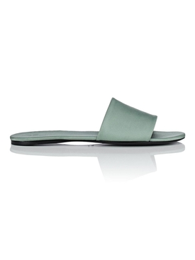 The Row - Ellen Satin Slide Sandals - Women