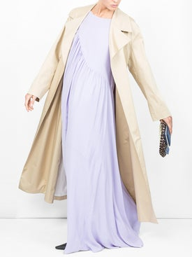 The Row - Moora Cotton-blend Poplin Trench Coat - Women