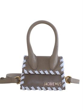 Beige Le Chiquito Stitched Handbag