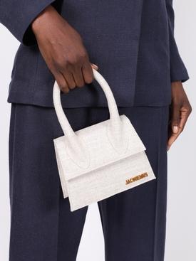 Beige Le Chiquito Moyen Handbag