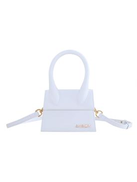 White Le Chiquito Moyen Handbag