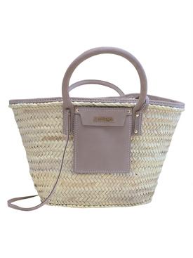 Le Panier Soleil Tote Bag Grey
