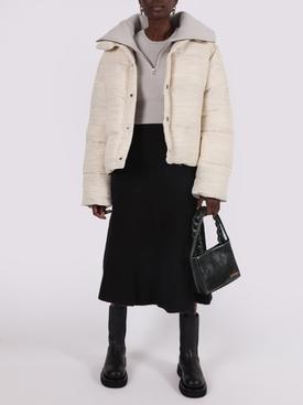 La Doudoune beige coat