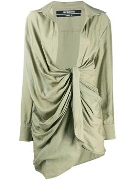 LIGHT GREEN LA ROBE BAHIA DRESS