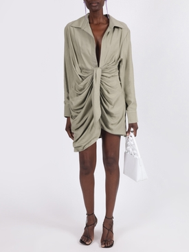 LIGHT GREEN LA ROBE BAHIA DRESS