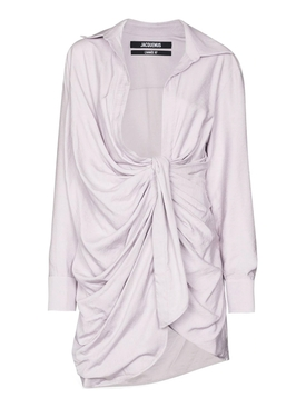 LILAC GREY LA ROBE BAHIA DRESS