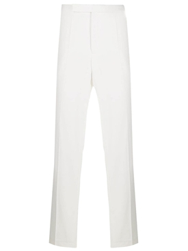 Beaumont white Cowboy Trousers