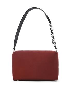 HEIRESS SPORT SHOULDER BAG RED CABERNET