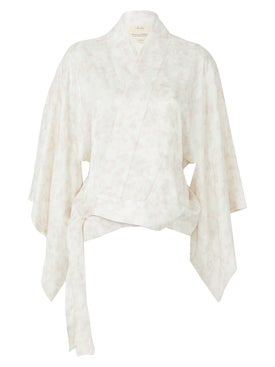 Chufy - Hand-embroidered Nibushiki Jacket - Women