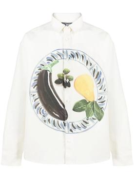 White La Chemise Henri Button-Down Shirt