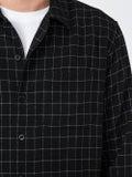Ami Alexandre Mattiussi - Grid Pattern Shirt Black - Men