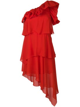 Givenchy - Red One-shoulder Dress - Women