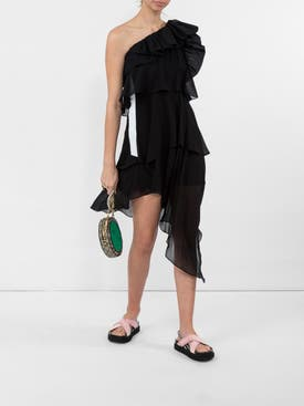 Givenchy - Black One Shoulder Dress - Women