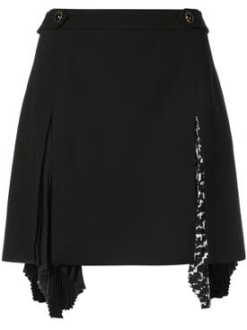 Givenchy - Pleat Insert Kilt - Women