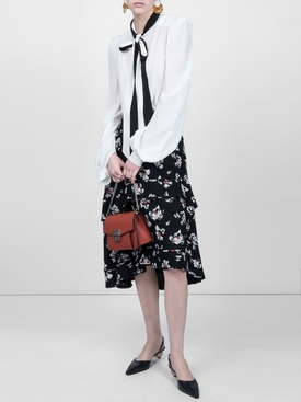 ssybow blouse WHITE