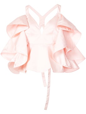 Rosie Assoulin - Ruffled Blouse Pink - Women