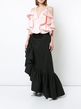 ruffled blouse PINK