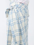 Rosie Assoulin - Draped Checked Skirt - Women