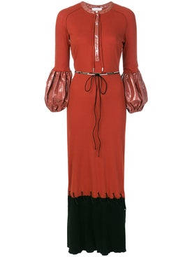 J.w. Anderson - Puff Sleeve Maxi Dress - Women
