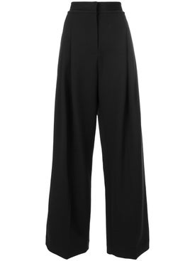 J.w. Anderson - Black Wide Leg Trousers - Pants